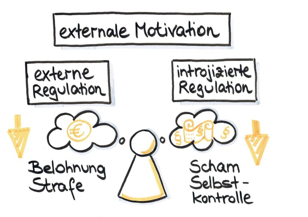 Salvere-Wie funktioniert Motivation-Externale Motivation